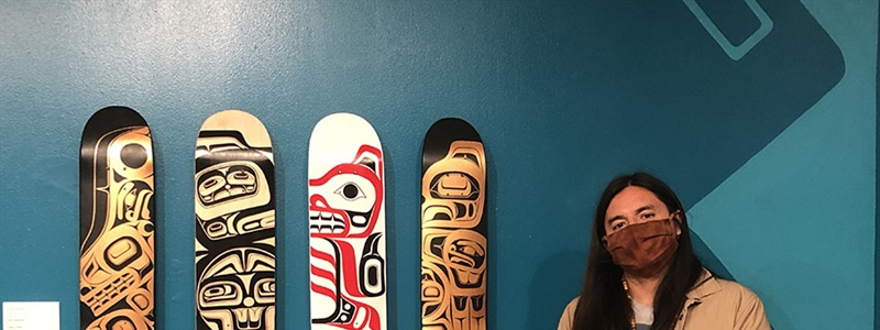 PIVOT Skateboard Deck Art Exhibit